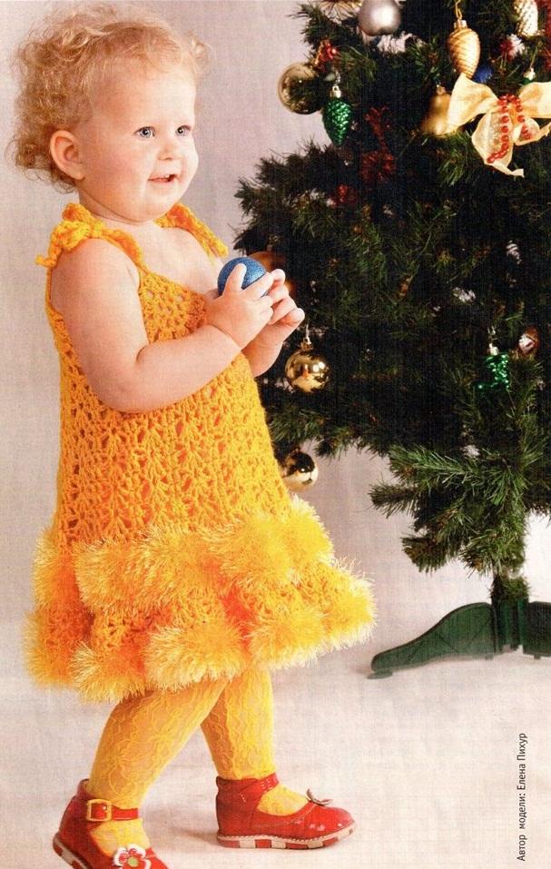Вязание крючком для детей на новый год