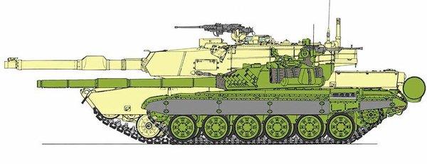Почему танки СССР и РФ настолько меньше западных