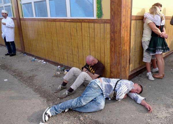 ВРиге задержали две группы оскандалившихся немецкоязычных туристов