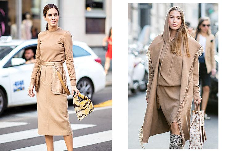 Всегда в моде: как носить бежевый total look и выглядеть ярко