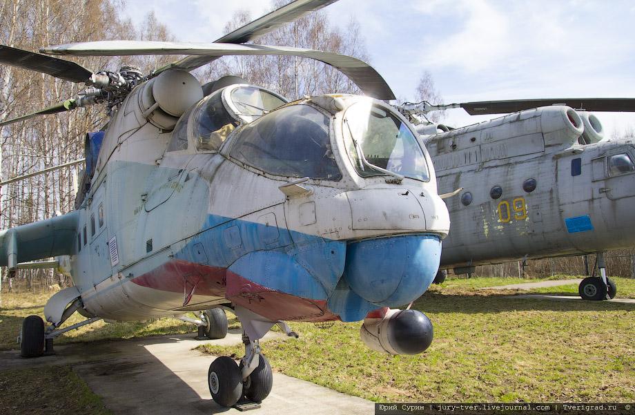 Музей вертолетов в Торжке