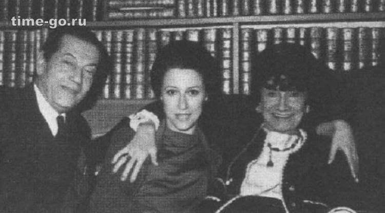 Майя Плисецкая и Коко Шанель