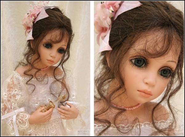 Изготовление фарфоровой куклы в домашних условиях