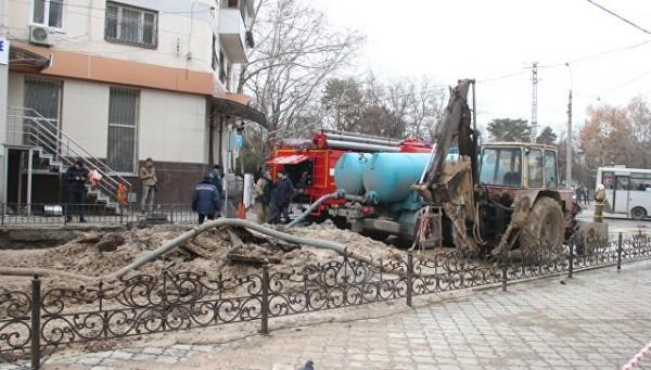 Авария в Симферополе лишила …