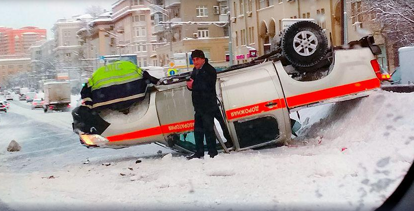 Как москвичи пережили снегопад века