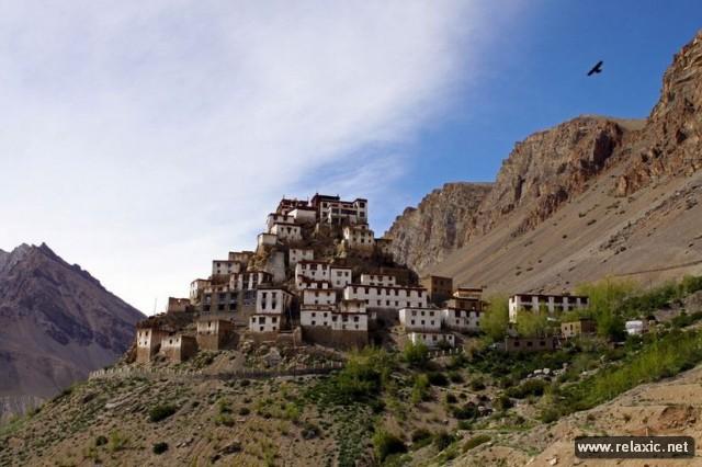 Буддийский монастырь Ге (12 фото)