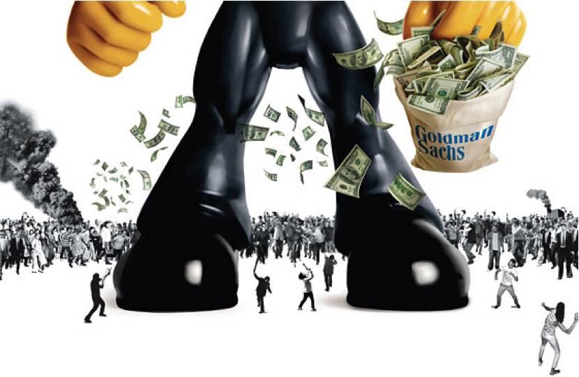 Организованная жадность против дезорганизованной демократии