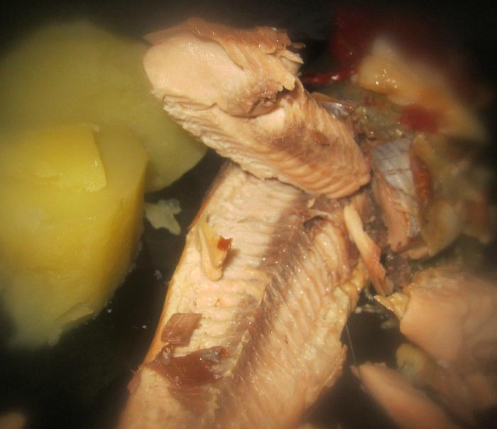 Сливочное масло с добавками с запеченой рыбкой