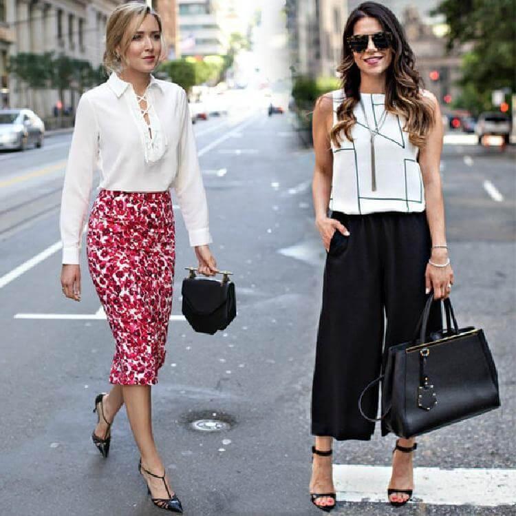 Как красиво одеться на работу летом: 9 стильных идей