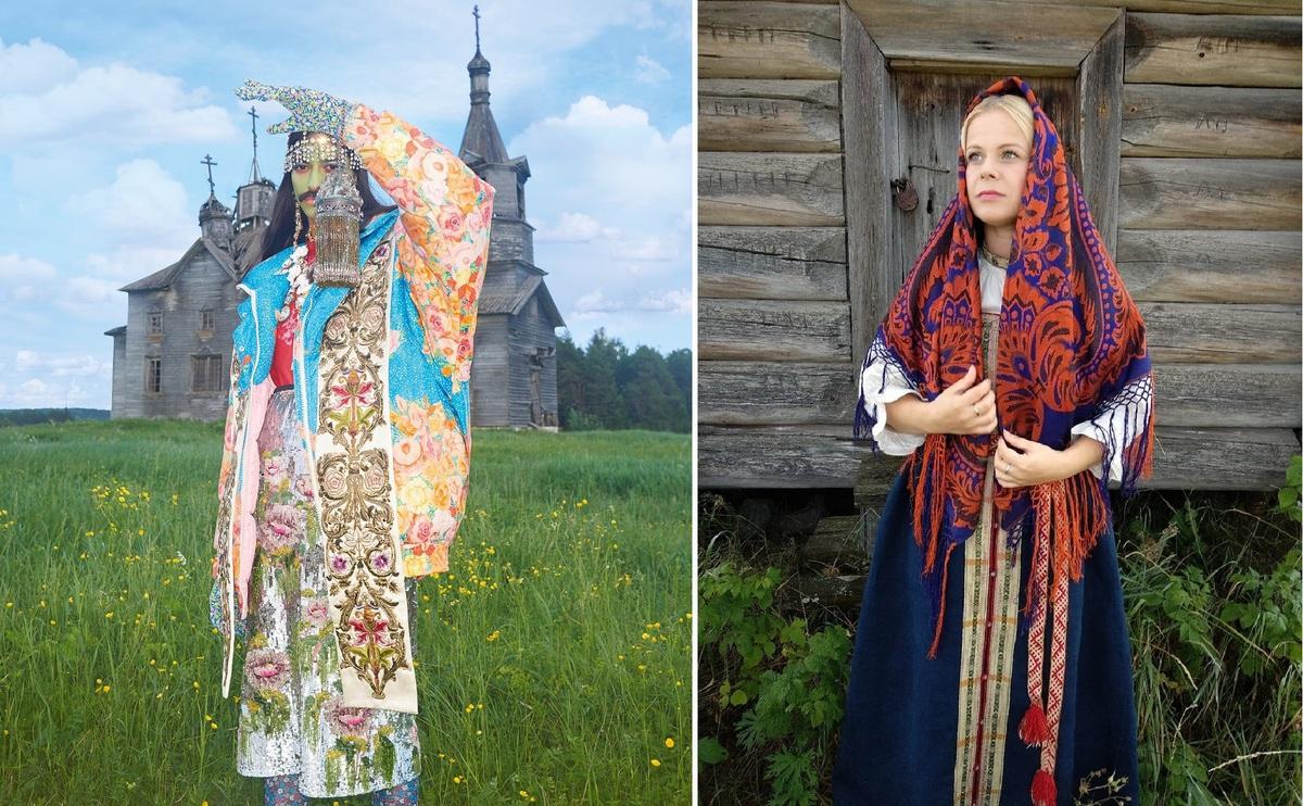 Vogue снял усатых женщин в русской деревне, обиженные жители отомстили