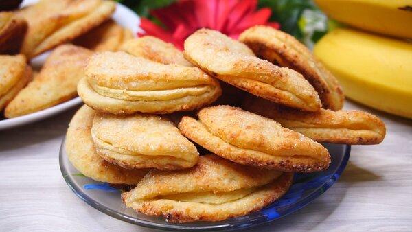 Творожное печенье с новым вкусом, все благодаря яблоку