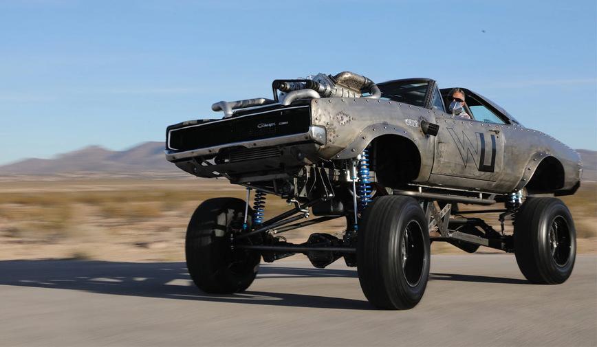 Культовый американский авто получил тюнинг в стиле Безумного Макса