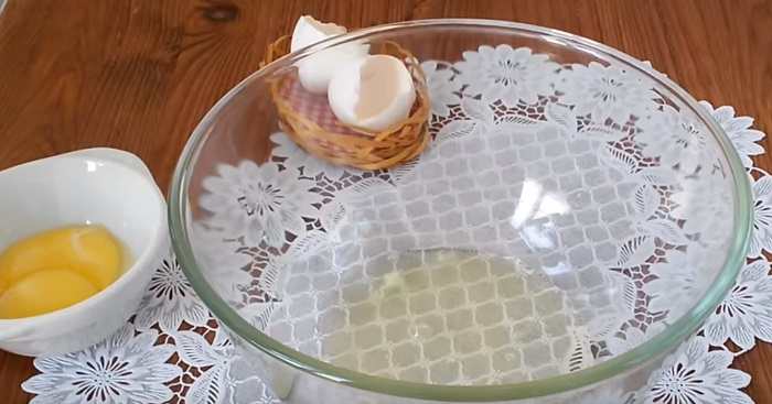 белковый крем на водяной бане