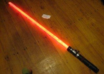 Делаем световой меч из Звездных Войн