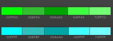 как сочетать зеленый и голубой в интерьере