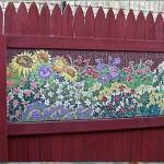 Как сделать красивый забор на даче: 40 фото заборов с мозаикой и пошаговым мастер-классом