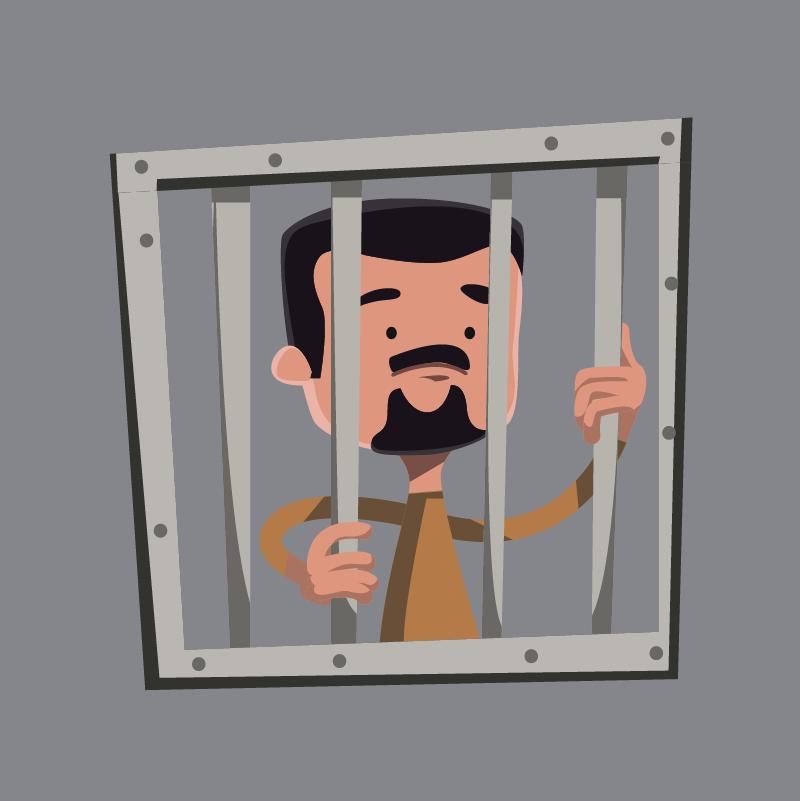 Анекдот про заключённого, который выбирал себе сокамерников