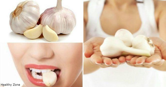 Засуньте зубчик чеснока в рот на 30 минут - и почувствуете себя намного лучше!