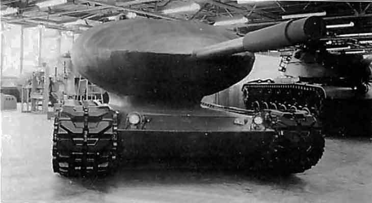 "Chrysler TV-8, как ""совершенный"" танк для ядерной войны"
