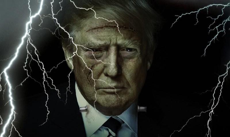 Чарльз Дж. Хопкинс, США: Трампенштейн должен быть уничтожен!