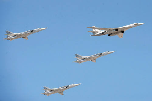 Россия, США и Китай играют мускулами стратегической авиации