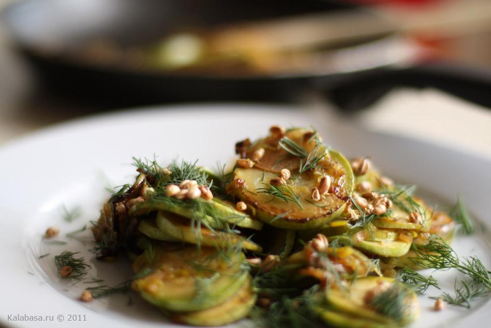 5 самых простых блюд из кабачков