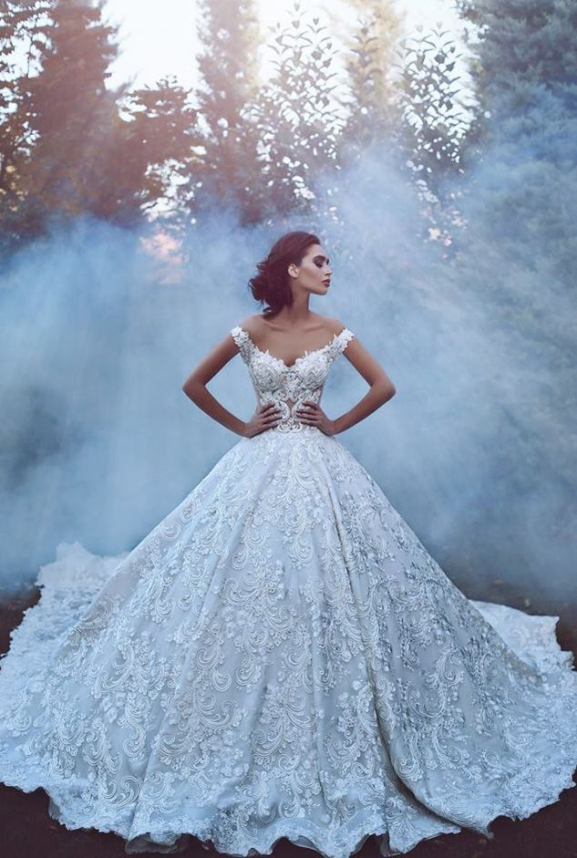 Восхитительные платья ливанского дизайнера Hanna Gebran Toumajean