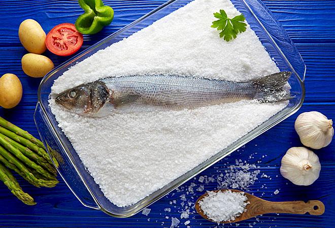Секреты приготовления рыбы в соли