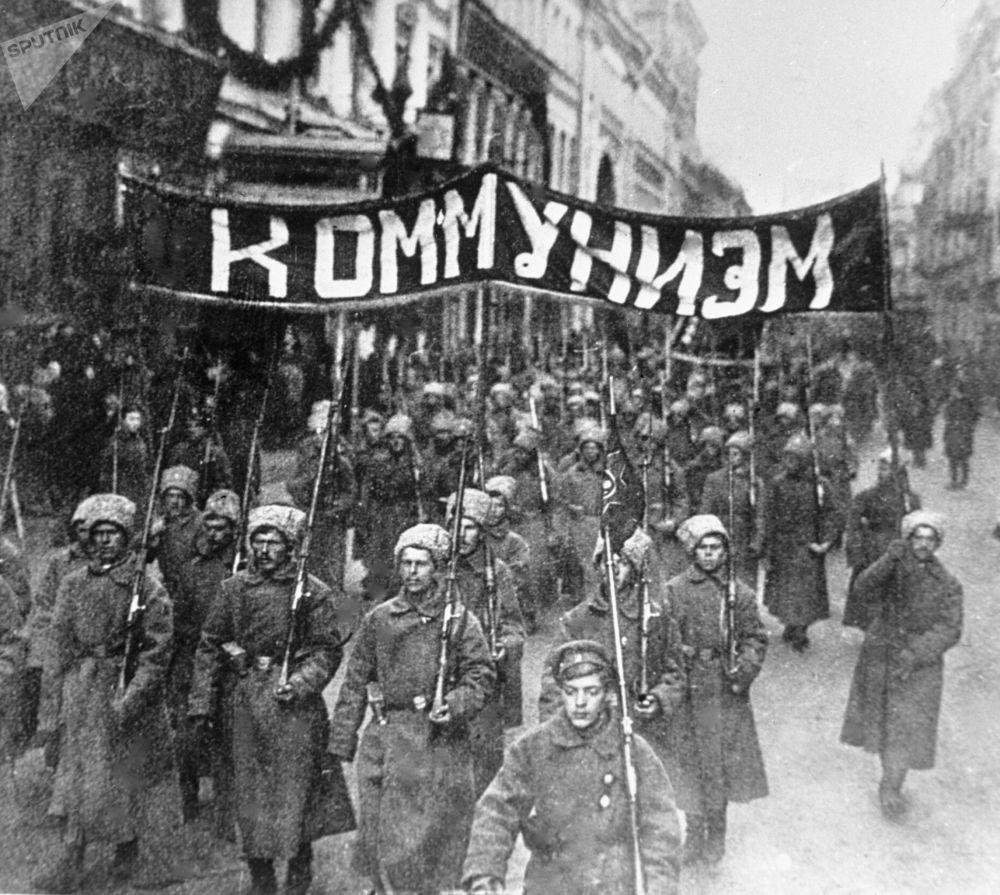 Революция, которая произошла в СССР через 12 лет после революции