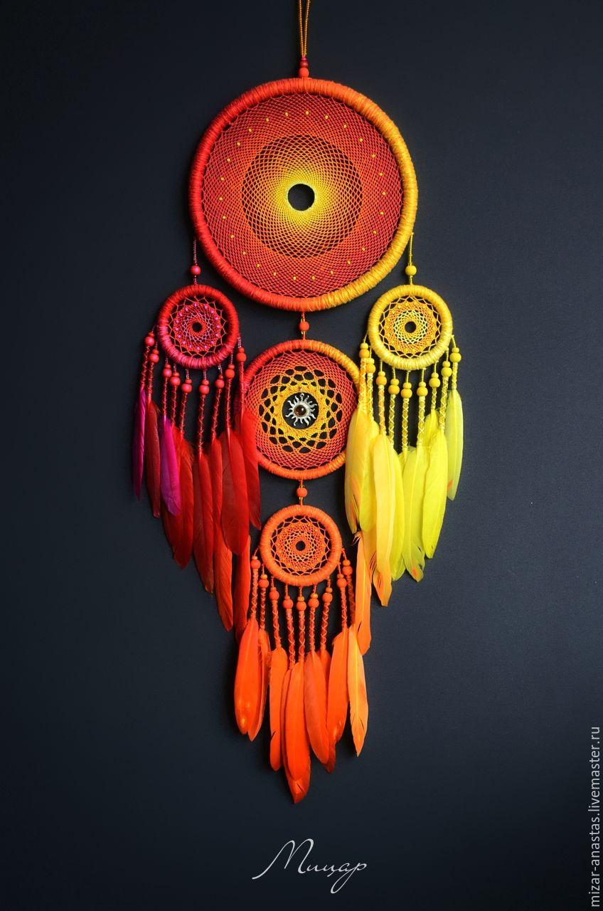 Потрясающе красивые ловцы снов от Анастасии Мицар