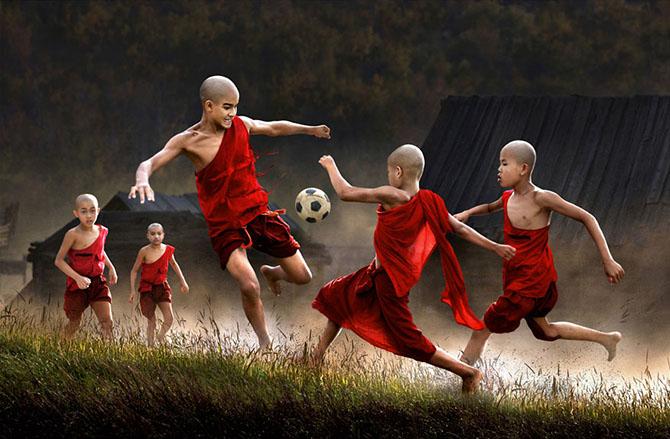 Детские забавы в разных концах света