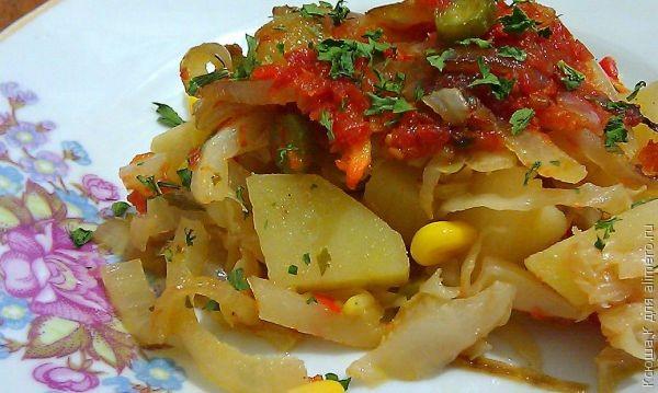 Овощная рагу в духовке рецепты