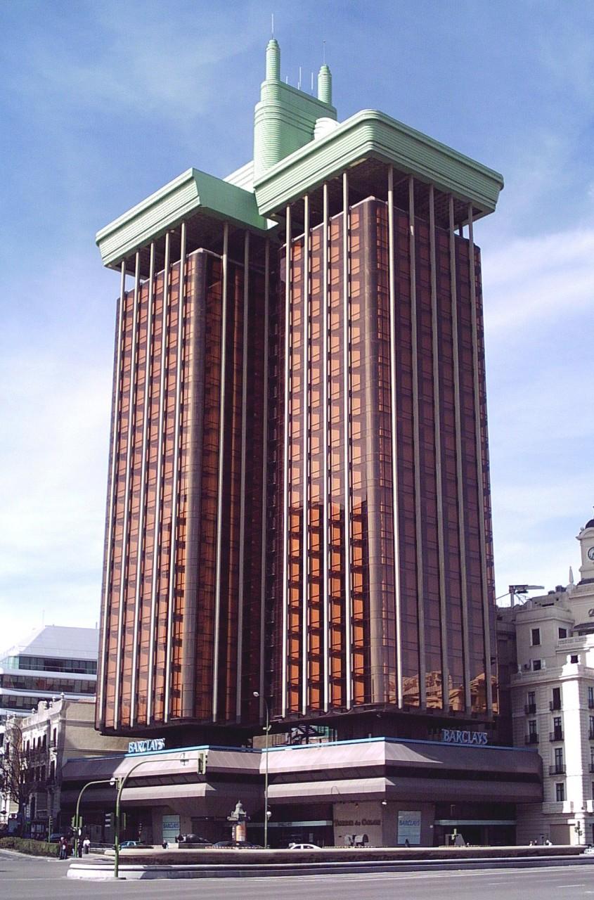 Башни Колумба. Здание, построенное сверху вниз