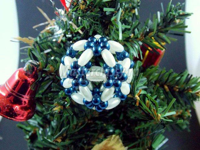 Новогодний шарик для елки