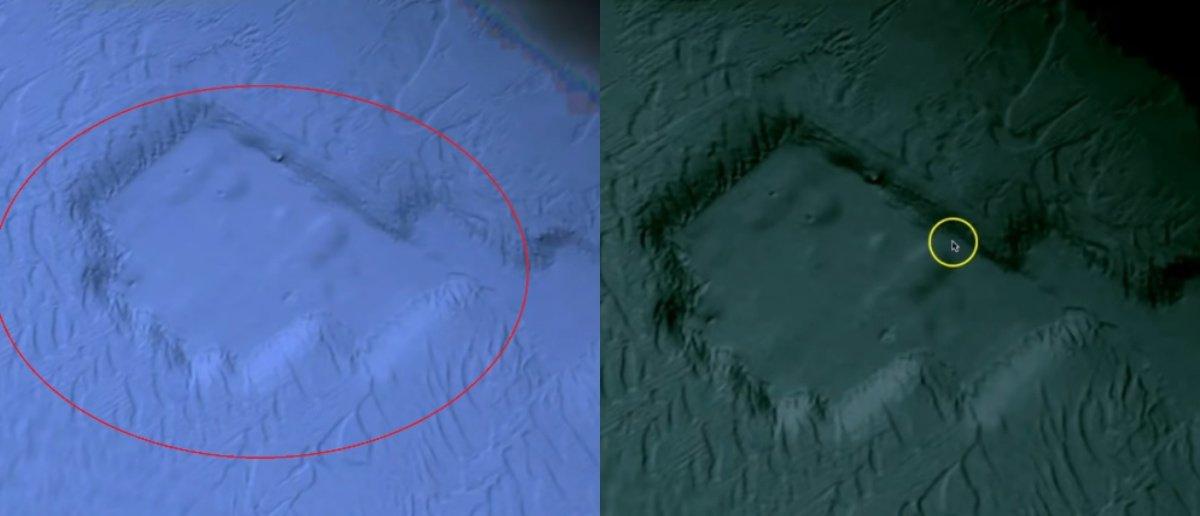 Блогер обнаружил следы затонувшего города на снимках Google Earth