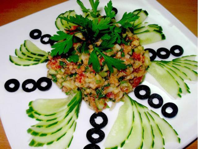 Сложный салат рецепт с