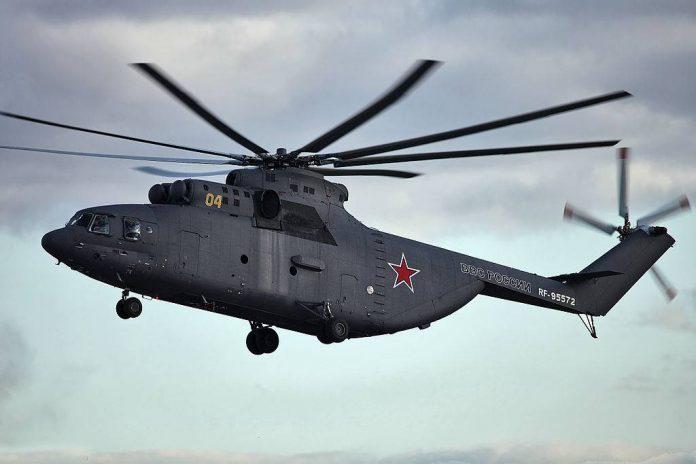 Вертолет Ми-26: советский «супертяж»