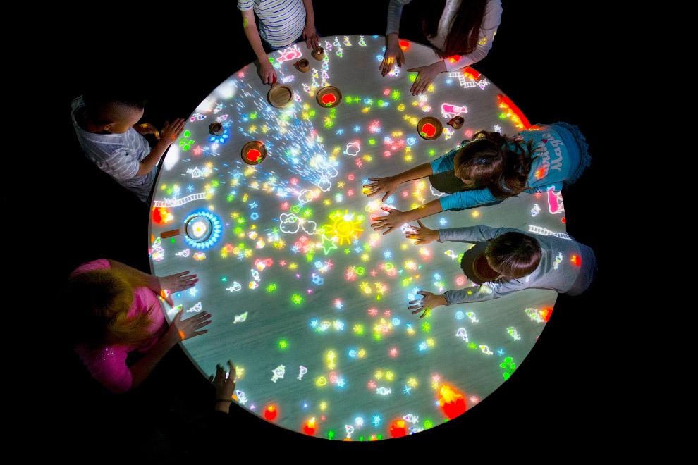 Экскурсия в музей цифрового искусства в Токио