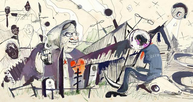 Про бабу Дусю, четырех ее мужей, козу, баян и Индиру Ганди