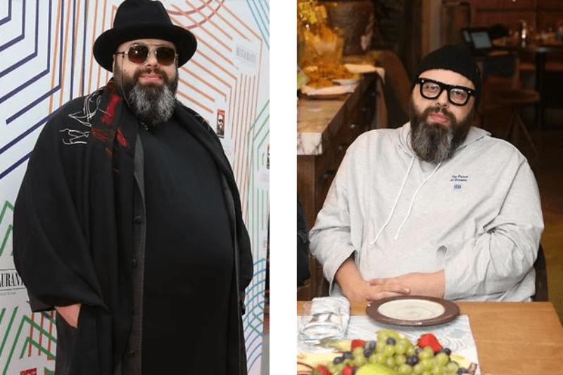 Макс Фадеев похудел на 70 килограммов