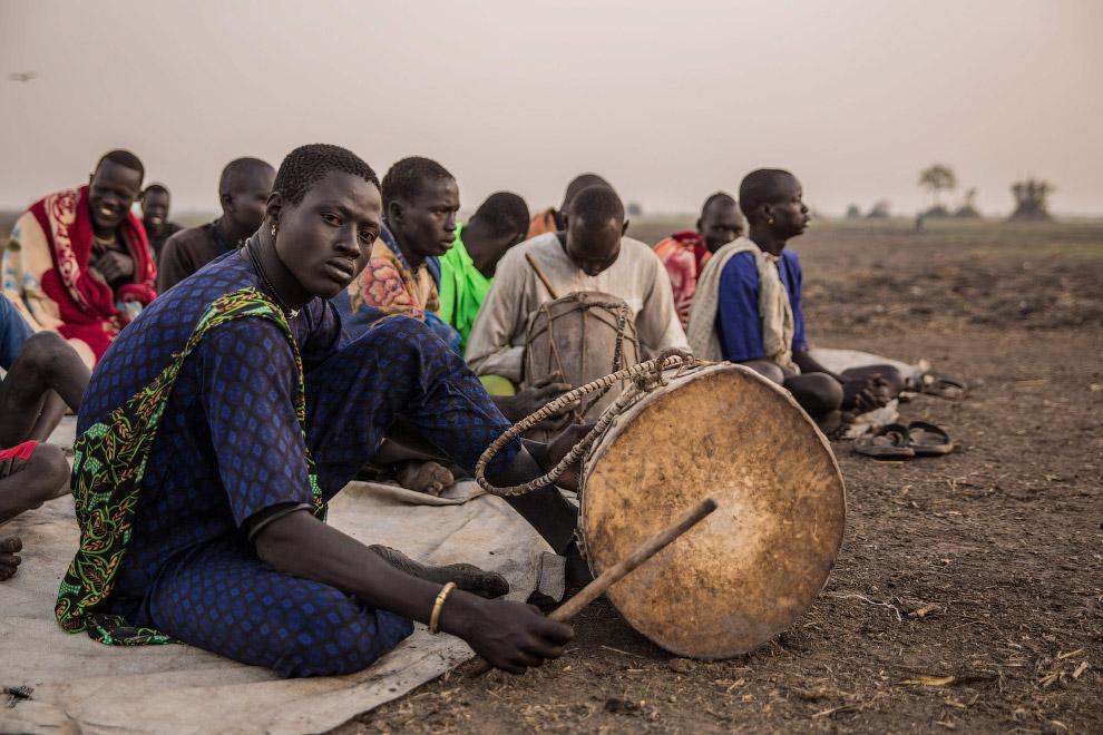 Утренняя молитва скотоводов, Южный Судан