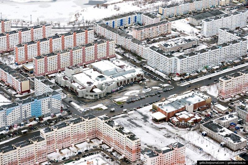 Новый Уренгой с высоты: газовая столица России путешествия, факты, фото