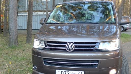 НАПОМИНАНИЕ О БЫЛОЙ РОСКОШИ: Volkswagen Multivan