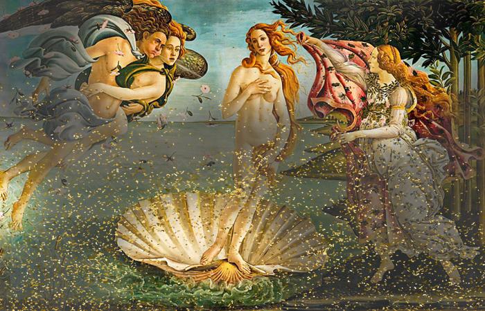 «Рождение Венеры» Ботичелли: скрытые символы на картине