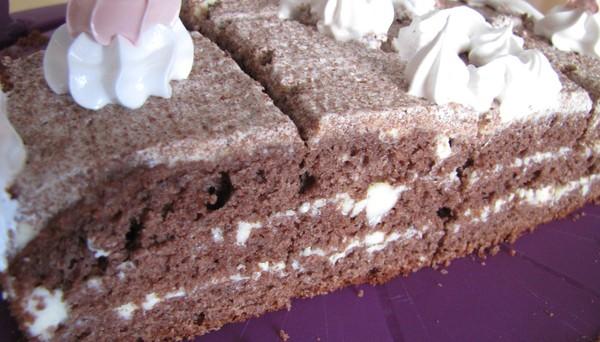 "Торт ""Мёд и шоколад"""