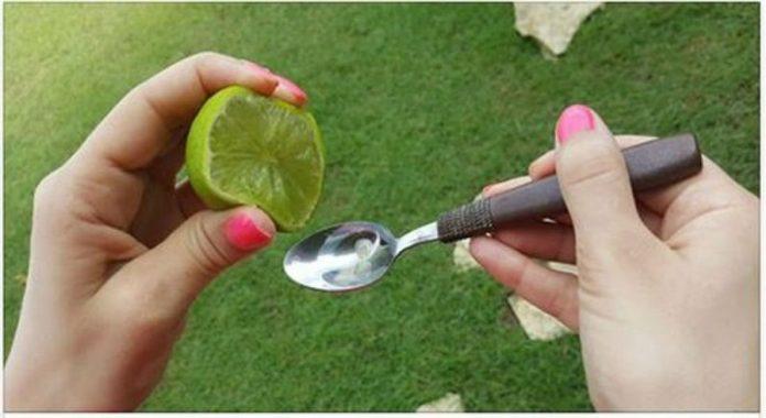 Смешайте сок 1 лимона (или лайма) с 1 ложкой оливкового масла, и вы никогда не перестанете это использовать