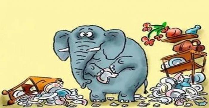 Трамп, что слон в посудной лавке!