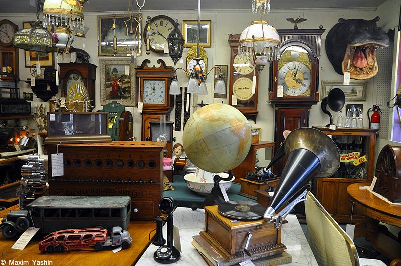 Antiques shops 1 Антикварные магазины в США