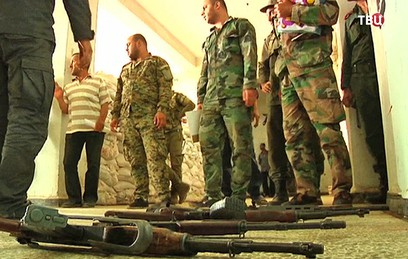 В сирийском Эр-Растане открылись пекарня и медпункт