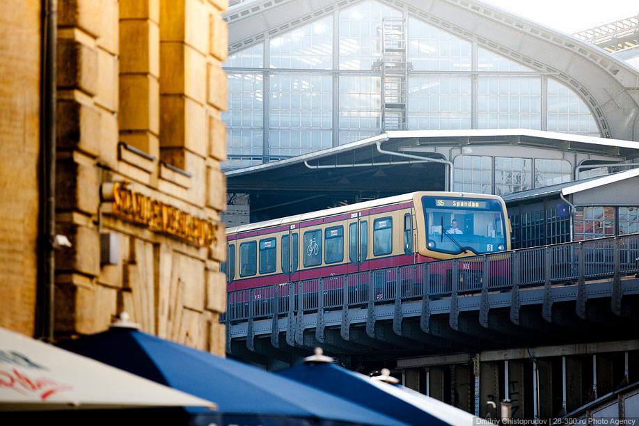 Berlin 25 Общественный транспорт Берлина